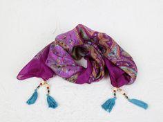 Tassel Necklace, Tassels, Ready To Wear, How To Wear, Jewelry, Fashion, Fleece Hats, Hair Wrap Scarf, Hot Pink