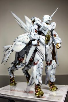 "MG 1/100 Unicorn Gundam ""Beast Mode: Pegasus Project"" - Gundam Kits Collection News and Reviews"