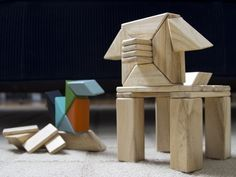 Tegu - Wooden Magnetic Building Blocks