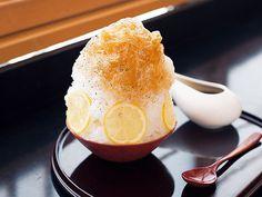 香り高い番茶とレモンが涼やか! 夏の原宿でいただく京都発のかき氷|劇的な進化を遂げた ふわっふわ東京最新かき氷|ぎおん徳屋