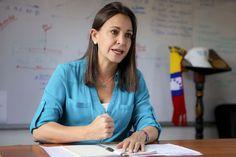 María Corina Machado desmintió a Nicolás Maduro