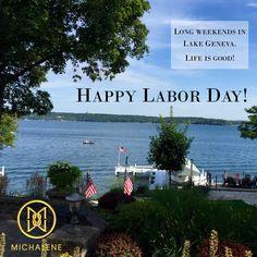 Monday with Michalene: Long Weekends in Lake Geneva - Life is Good! #relax #LakeGeneva #lakesideliving #Melges