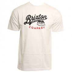 Brixton Mens Shirt Denton White