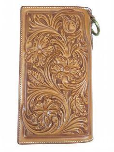 超特厚表革カスタムミドルウォレット|Kawamura Fine Leather Arts & Crafts Diary