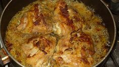 Chicken in a tasty beer sauce - There is never a .- Chicken in Tasty Beer Sauce – Never a Piece - Italian Chicken Dishes, Frittata, Restaurant, Lasagna, Crockpot Recipes, Pork, Beer, Tasty, Ethnic Recipes