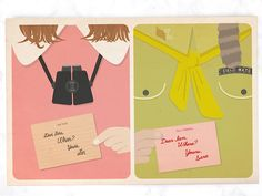 5 Wedding Invitations Inspired by Wes Anderson Movies | Photo by: MissDesignBerryInc | TheKnot.com