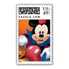 Mickey Mouse Halloween Stamps