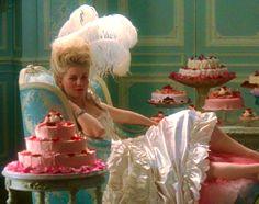 Kirsten Dunst in Sophia Coppola's Marie Antoinette