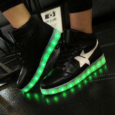 Adult Men's Light Up Shoes