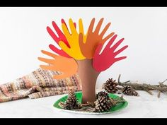Handprint Tree - The Best Ideas for Kids
