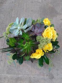 A flower arrangement called Emphasis Different Flowers, Flower Arrangements, Contemporary, Plants, Image, Floral Arrangements, Plant, Planets
