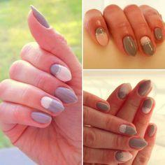 #homemade #nails #hibrid #nails2inspire #doit #instanails #artnails #spring #semilacnails #biscuit #littlestone #semilac #sweet #look #lovely #lookoftheday #homenails  Miało być neonowo, a wyszło jak zawsze - milion inspiracji i oto słodkie pastele zagościły na moich pazurkach