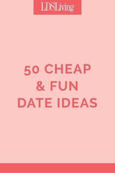 50 Cheap and Fun Date Ideas