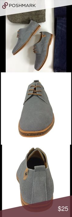 Men's Gray Suede Leather Oxford Lace Up Shoes Product Description   The SoFitly Oxford is made with suede upper. The Cushioned insole and Flexible rubber outsole of the SoFitly shoe provide All-day comfort, support and ease of motion. Great Fit, Comfort, Style and Price in 7 colors to match any occasion.   Product Features  * Suede Leather Uppers * Rubber Sole * Custom U.S. Design  * Cushioned Insole for Extra Comfort * Flexible Rubber Outsole * Heel Measures approximately .75 inches SoFitly…