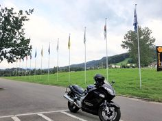 Our travel buddy. Visit link to know more⤵️ Motorcycle Touring, Alps, Us Travel, Mountains, Link, Beach, The Beach, Beaches, Bergen