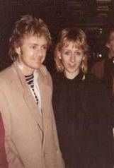 Roger with his sister Clare ~ They're really close from looking at this photo, both seem genuinely so happy to be together! That's so beautiful!
