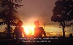 Life is Strange   Episode 2   Max & Warren & The Sunset