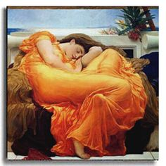@Overstock.com - Flaming June by Leighton Stretched Canvas Artwork - If you are looking for a beautiful piece of art to accent any room, this handcrafted stretched canvas art is a great choice. Titled Flaming June, this recreated Leighton piece is ready to hang. The vibrant colors are sure to accent any current decor.  http://www.overstock.com/Home-Garden/Flaming-June-by-Leighton-Stretched-Canvas-Artwork/1893637/product.html?CID=214117 $122.99