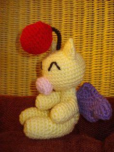 Amigurumi Moogle Crochet Pattern