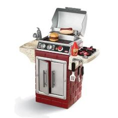 Little Tikes Backyard Barbeque Get Out 'N Grill #Backyard Barbeque  #Backyard Barbeque for kids
