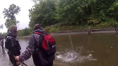 Erie steelhead fishing oct12016 #outdoors #nature #sky #weather #hiking #camping #world #love https://youtu.be/9DHh6UftS-Y