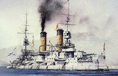 Russian Battleship Tsesarevich (1899)