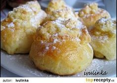 Koláčky od tety z Moravy recept - TopRecepty. Cookie Desserts, Cookie Recipes, Dessert Recipes, Czech Recipes, Lemon Cookies, Cookies Et Biscuits, Graham Crackers, Mini Cakes, Christmas Baking