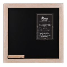 """Parisian Home Old School House Style Wooden Framed Chalkboard (11.75""""x11.75"""") Parisian Home,http://www.amazon.com/dp/B00IXVAGJI/ref=cm_sw_r_pi_dp_L5Sptb0J0Z6CM2N0"""