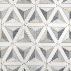 Artistic Tile | Duomo White Waterjet Mosaic