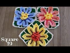 Crochet Granny, Crochet Motif, Bracelet Patterns, Doilies, Pot Holders, Mandala, Blanket, Cristina, Granny Squares
