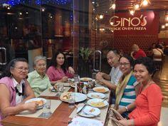 After watching the Christmas cantata at GCF Ortigas, we had dinner at Gino's. Mukhang seryoso masyado yung isa sa dulo.... Haha. Family Bonding, In This Moment, Christmas, Xmas, Navidad, Noel, Natal, Kerst