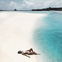 "Maldives (@maldives) on Instagram: ""They say Maldives may cause an overdose of satisfaction.. Agree?  . @parisverra .…"""