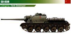 SU-85M Tank Destroyer