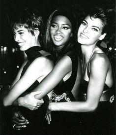 Christy, Naomi and Linda, 90's