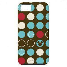 Mickey Retro Polka Dot Pattern iPhone 5 Covers $44.95