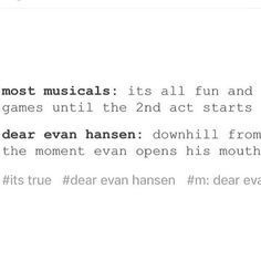 That's hurt as hell but at the time, so F*cking true! Theatre Jokes, Theatre Nerds, Musical Theatre, Theatre Problems, Liz Phair, Kevin Parker, Jenny Lewis, Rage Against The Machine, Vampire Weekend