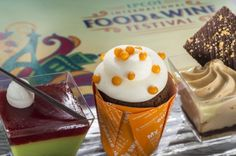 Trio of Desserts will debut at this year's Epcot Food and Wine Festival. Click through for more menu items!