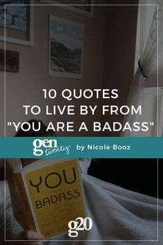 10 quotes to live by from the book that teaches us how to be a badass.