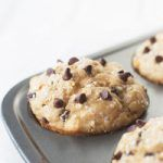 Peanut Butter Chocolate Chip Muffins- an easy muffin recipe that is tender, packed with peanut butter flavor and studded with mini chocolate chips!