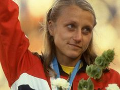 Grete Waitz (1953-2011) Norwegian marathon runner and former world record holder. She won more New York City Marathons than any other runner in history, won a silver medal at the 1984 Summer Olympics in LA and a gold medal at the 1983 World Championships in Athletics in Helsinki.