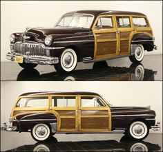 My dream vintage care - 1949 Desoto deluxe woody station wagon - or Ford woody of the same period.