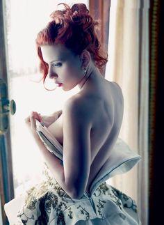 Scarlett Johansson for Vanity Fair #fashion