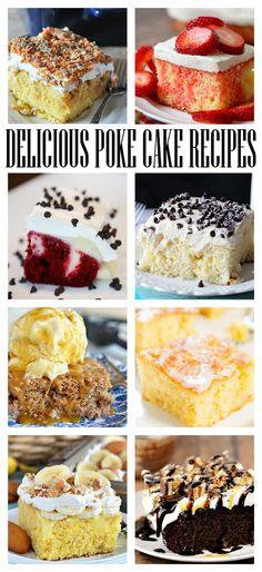 20 Jello and Pudding Poke Cake Recipes