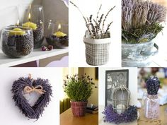 Decorating with Lavender
