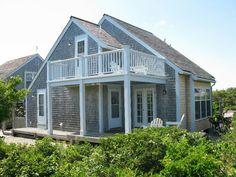Nantucket saltbox style ocean view rental