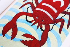 Waterlife: Exquisite Illustrations of Marine Creatures Based on Indian Tribal Art | Brain Pickings
