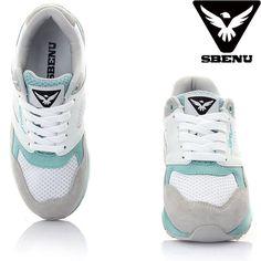(SBENU) S-012 SM SIMPLE MINT Mens Womens Sneaker Running Elevator Shoes AOA IU #SBENUhellobincom #RunningFashionSneakerShoes