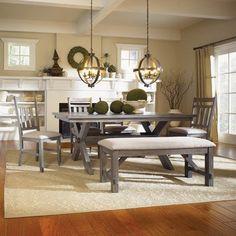 Powell Furniture Turino 6-Piece  Dining Set