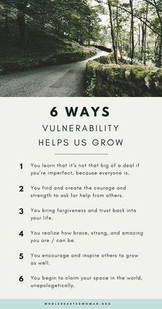 6 Ways Vulnerability Helps Us Grow | Personal Development | Life Advice | Mindset