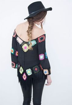Haze Fringe Top